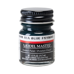 Modelmaster1717 Dark Sea Blue FS15042 - Semi-Gloss