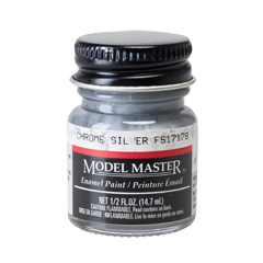 Modelmaster1790 Chrome Silver FS17178 - Flat