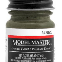 Modelmaster2075 Dunkelbraun RLM 61 1/2 oz  Paint Bottle