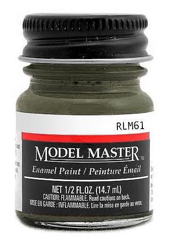 Modelmaster2075 Dunkelbraun RLM 61 1/2 oz  Paint Bottle
