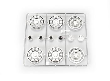 1:14 Wheel cover/hub set (2+4) chrome