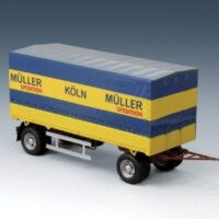 Italieri Canvas Trailer 1:24