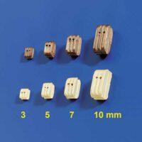 block 3 mm enkel (10stk)