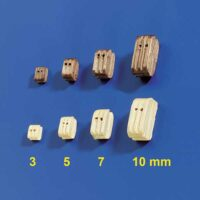 Dobbel blokker 3mm (10stk)