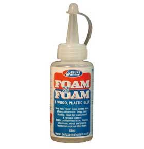 Foam2Foam Kleber 50ml DELUXE