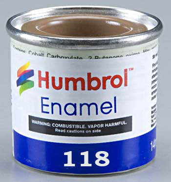 Humbrol 118 US Tan matt