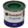 Humbrol 101 Mid Green matt 14ml