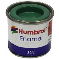 Humbrol 101 Mid Green matt 14ml