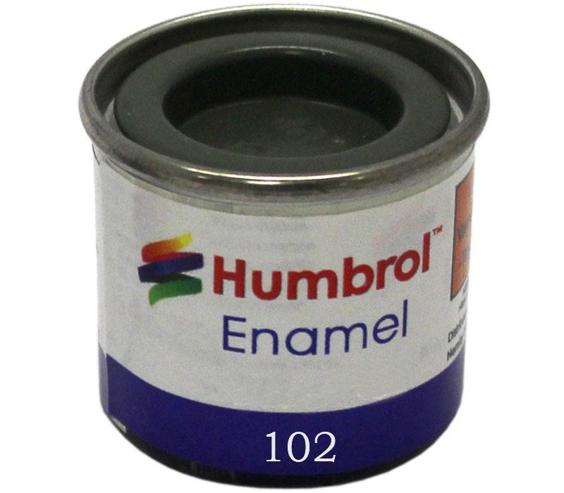 Humbrol 102 Army Green matt 14ml