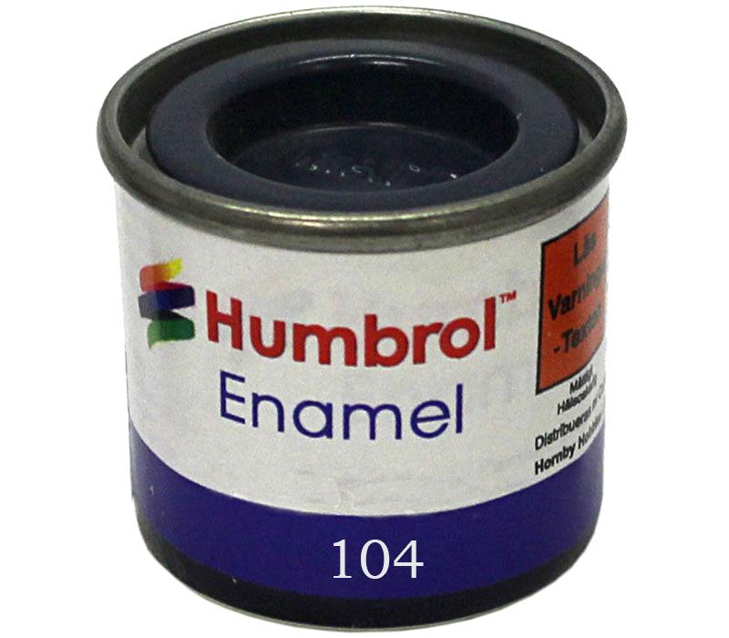 Humbrol 104 Oxford blue matt 14ml