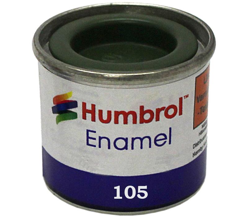 Humbrol 105 Marine green  matt