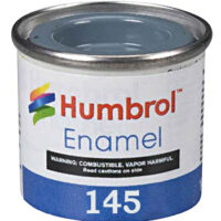 Humbrol 145 Medium Grey Gray Matt