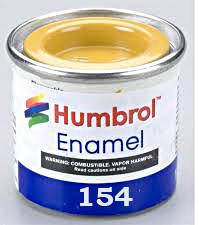 Humbrol 154 Insignia Yellow