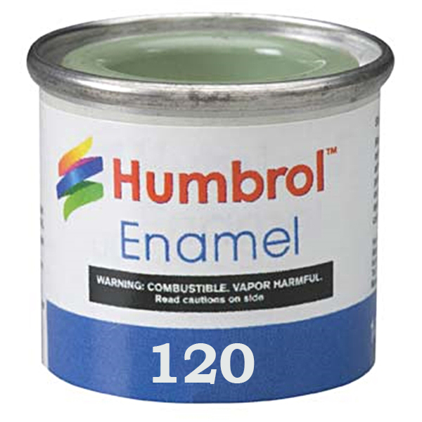 Humbrol 120 Light Green Matt