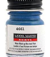 Modelmaster 4661 Ford / GM Engine Blue (G)