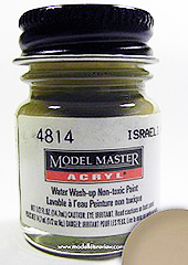 Modelmaster 4814 Israel Armor Sand Gray (F)