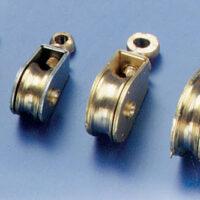 Messingblock 6mm enkel (2stk)