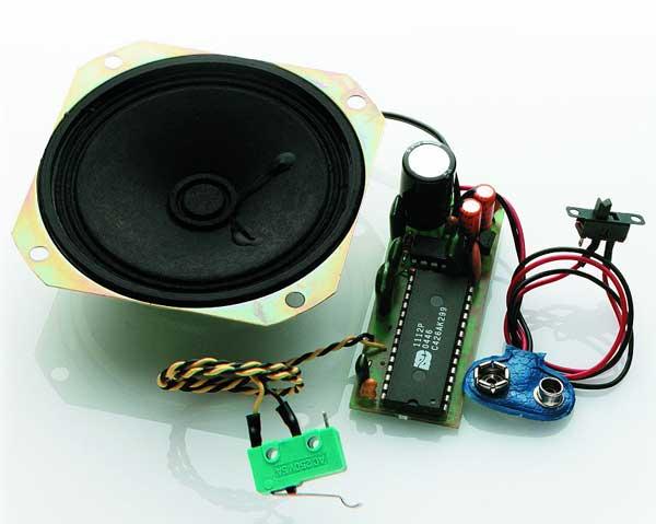 krick Sound Module stor bensin / dieselmotor med horn