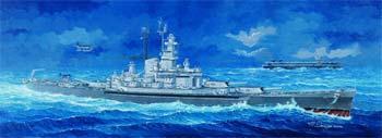 USS Massachusetts BB59 Battleship Plastic Model Military Ship Kit 1/350 Scale