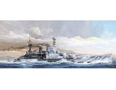 HMS Repulse WWII British Battle Cruiser 1941 Plastic Model Military Ship 1/350 Scale