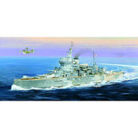HMS Warspite British Battleship Plastic Model Military Ship 1/350 Scale
